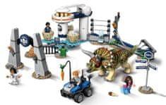 LEGO klocki Jurassic World 75937 Szał Triceratopsa