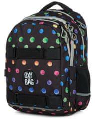 Karton P+P anatomski nahrbtnik OXY One Dots colors, večbarven