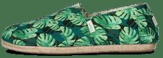 PAEZ espadryle męskie Classic Green Palms