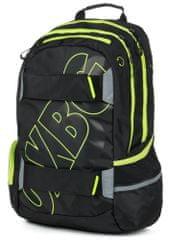 Karton P+P plecak anatomiczny OXY SPORT Black Line green
