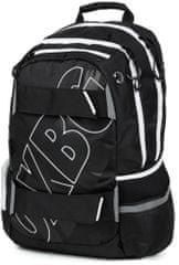 Karton P+P plecak anatomiczny OXY SPORT Black Line white