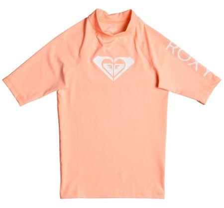 ROXY lány lycra póló UPF 50 Wholehearted 128 rózsaszín