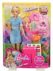 Mattel Barbie na potovanju