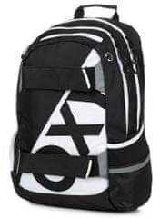 Karton P+P plecak anatomiczny OXY SPORT Neon Line B&W
