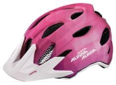 Alpina  Carapax Jr. Flash dětská přilba pink/white, vel. 51-56cm