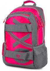 Karton P+P anatomski nahrbtnik OXY SPORT Neon Line Pink, roza