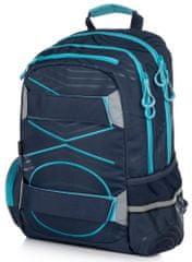 Karton P+P plecak anatomiczny OXY SPORT Pastel Line Blue