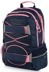 Karton P+P plecak anatomiczny OXY SPORT Pastel Line Pink