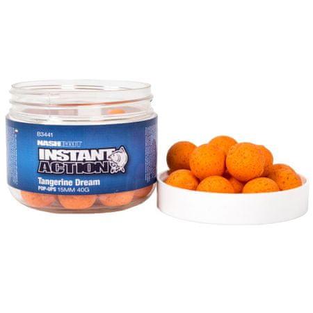 Nash Plávajúce Boilies Instant Action Tangerine Dream 35 g, 15 mm