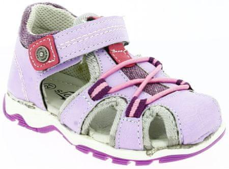 V+J dekliški sandali, 20, vijolični