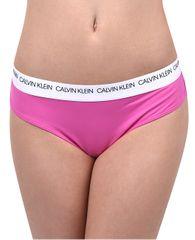 Calvin Klein Stroje kąpielowe Brazilian Hipster CK Logo KW0KW00629 -658 Floks Pink