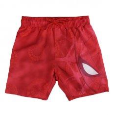 Disney Chlapecké plavecké šortky Spiderman - červené