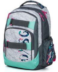 Karton P+P plecak szkolny OXY Style Grey Tropical