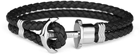 Paul Hewitt Podwójnie bransoletka z kotwą PH-PH-LSB (długość 21 cm)