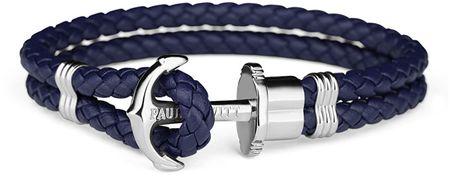 Paul Hewitt Podwójnie bransoletka z kotwą PH-PH-LSN (długość 22 cm)