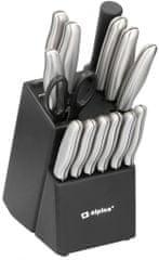 TimeLife Sada 15 nožov Alpina so stojanom