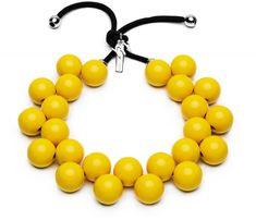 Ballsmania Originálne náhrdelník C206 14-0852 Giallo Freša