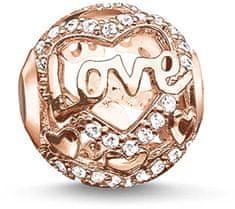Thomas Sabo Ezüst gyöngy szerelem K0176-416-14 ezüst 925/1000