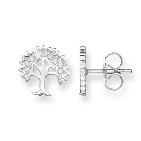 Thomas Sabo SrebrneKolczyki Drzewa życia H1870-051-14 srebro 925/1000