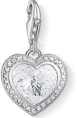 Thomas Sabo Csillogó szív ezüst medál 1362-051-14 ezüst 925/1000