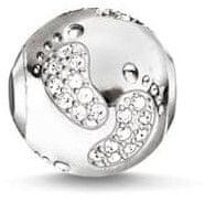 Thomas Sabo Ezüst gyöngy Első lépések K0155-051-14 ezüst 925/1000