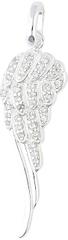Thomas Sabo Luxusný strieborný prívesok Anjelské krídlo SCPE150137 striebro 925/1000
