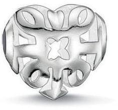 Thomas Sabo Ezüst gyöngy filigrán szív K0133-001-12 ezüst 925/1000