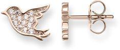 Thomas Sabo Ezüst fülbevaló bronz madarak H1866-416-14 ezüst 925/1000