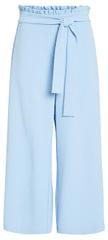 VILA Dámske nohavice Virasha Hw Cropped Wide Pant Pb/Kl Powder Blue
