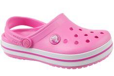 Crocs Crocband Clog K 204537-6U9 20/21 Różowe