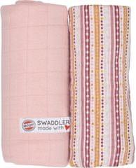 Lodger Swaddler Print Solid 2 balenia