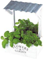 TimeLife Dekoračný panel na pestovanie byliniek 29 x 21 x 12 cm