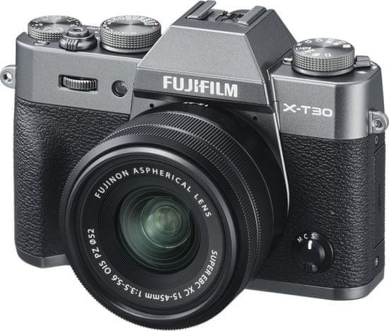 FujiFilm X-T30 + XC 15-45 mm Grey