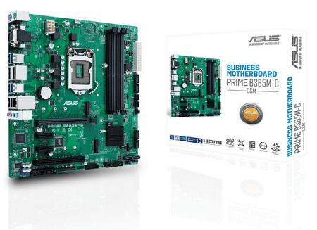 Asus matična ploča PRIME B365M-C/CSM, DDR4, USB 3.1 Gen1, LGA1151, mATX