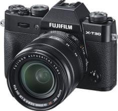 FujiFilm X-T30 fotoaparat + XF 18-55 mm objektiv