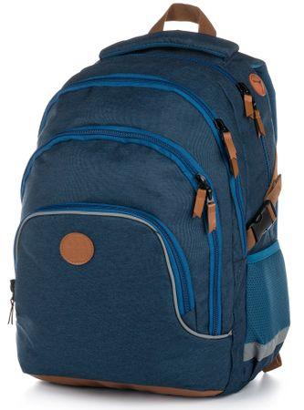 029a9aee61 Karton P+P Školský batoh OXY SCOOLER Blue