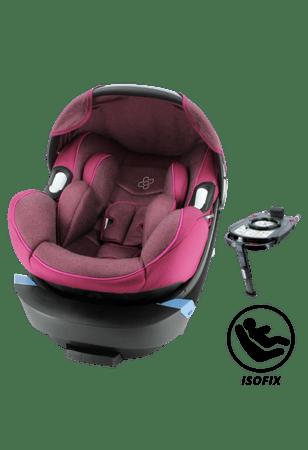 Nania fotelik samochodowy Migo Satellite Isofix Platinum Groseille