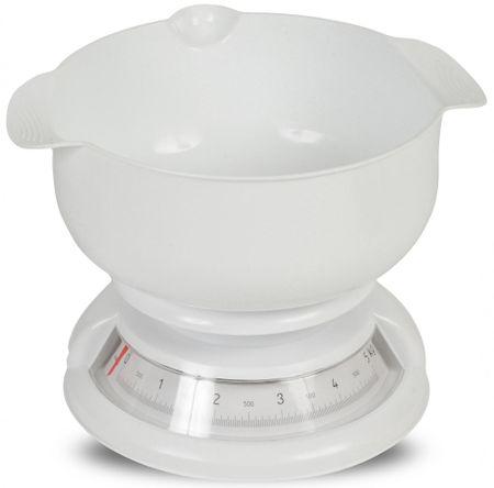 TimeLife kuhinjska tehtnica, analogna, do 5 kg, bela