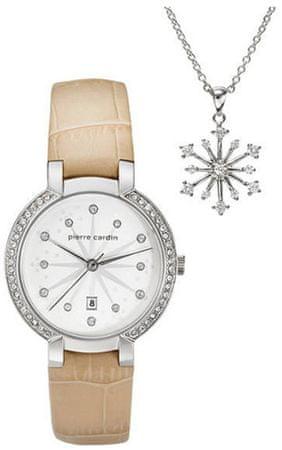 Pierre Cardin dámské hodinky + náhrdelník 20173623