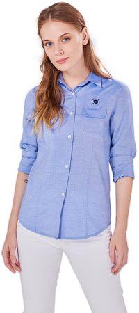 AUDEN CAVILL dámská košile S modrá