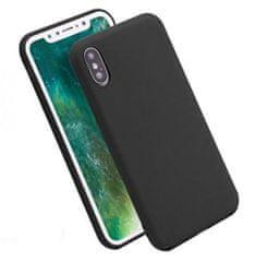 ovitek za Huawei Y7 2019, silikonski, mat črn