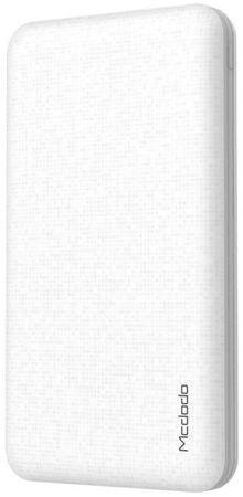 Mcdodo Powerbanka 10000mAh s 2× USB, bílá, MC-3700