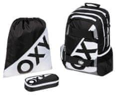 Karton P+P zestaw szkolny OXY NEON LINE Black & White