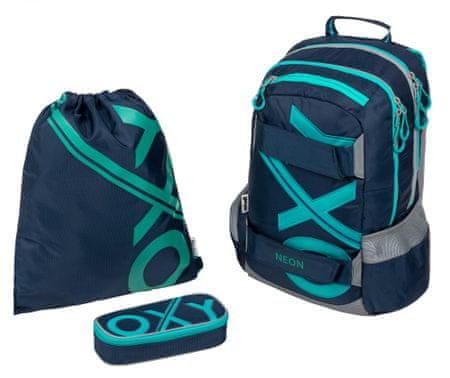 Karton P+P Školský set OXY Sport BLUE LINE Tyrkys