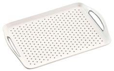 Kesper protiskluzový servírovací tác plastový, bílý
