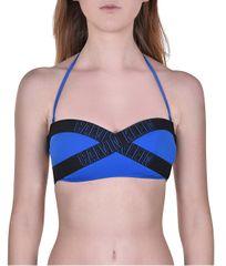 Calvin Klein Plavková podprsenka Bandeau-RP KW0KW00546-446 Duke Blue