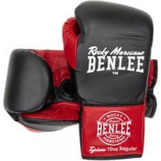 Benlee Boxerské šněrovací rukavice BENLEE Typhoon černočervené
