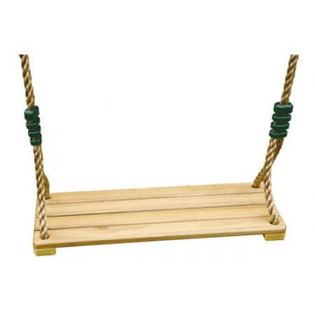 TRIGANO Dřevěná sedačka pro houpačky Oliver a Baxter