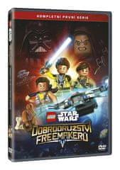 Star Wars Lego Dobrodružství Freemakerů - 1. série (2DVD) - DVD