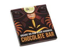 Lifefood Bio čokoláda z nepraženého kakaa 95% kakao so škoricou raw 35g